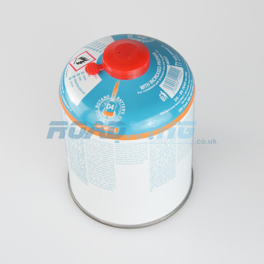 Gas Cartridge D4 Butane Battery   EN417 Screw Top   460g